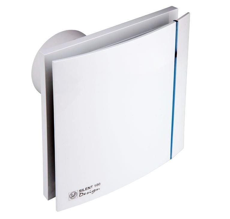 Oro alinimo ventiliatorius s p silent 100 cz design homeair for Decor 100 silent